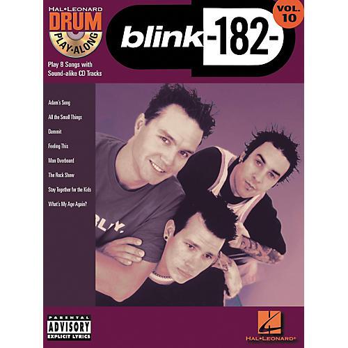 Hal Leonard Blink 182 Drum Play-Along Series Volume 10 (Book/CD) thumbnail