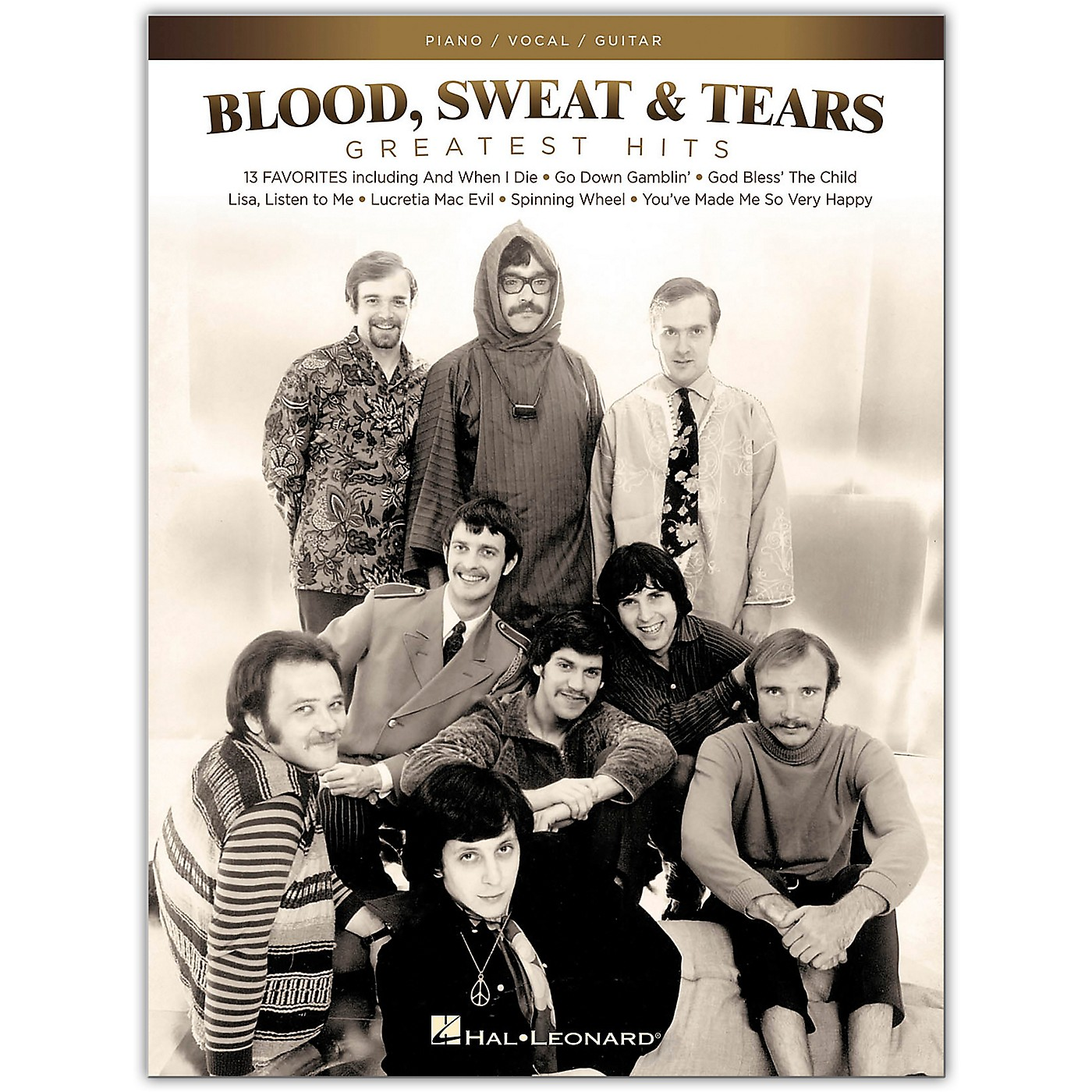 Hal Leonard Blood, Sweat & Tears - Greatest Hits for Piano/Vocal/Guitar thumbnail