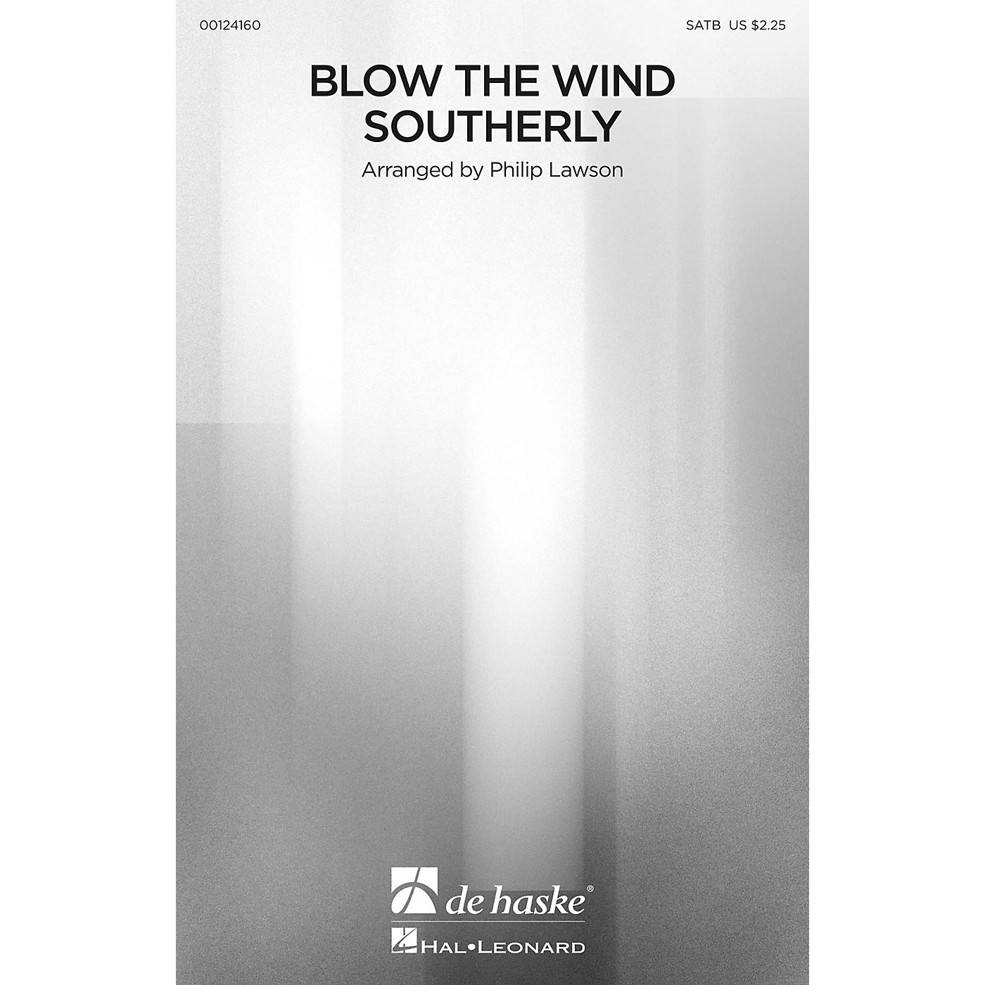 De Haske Music Blow the Wind Southerly SATB arranged by Philip Lawson thumbnail