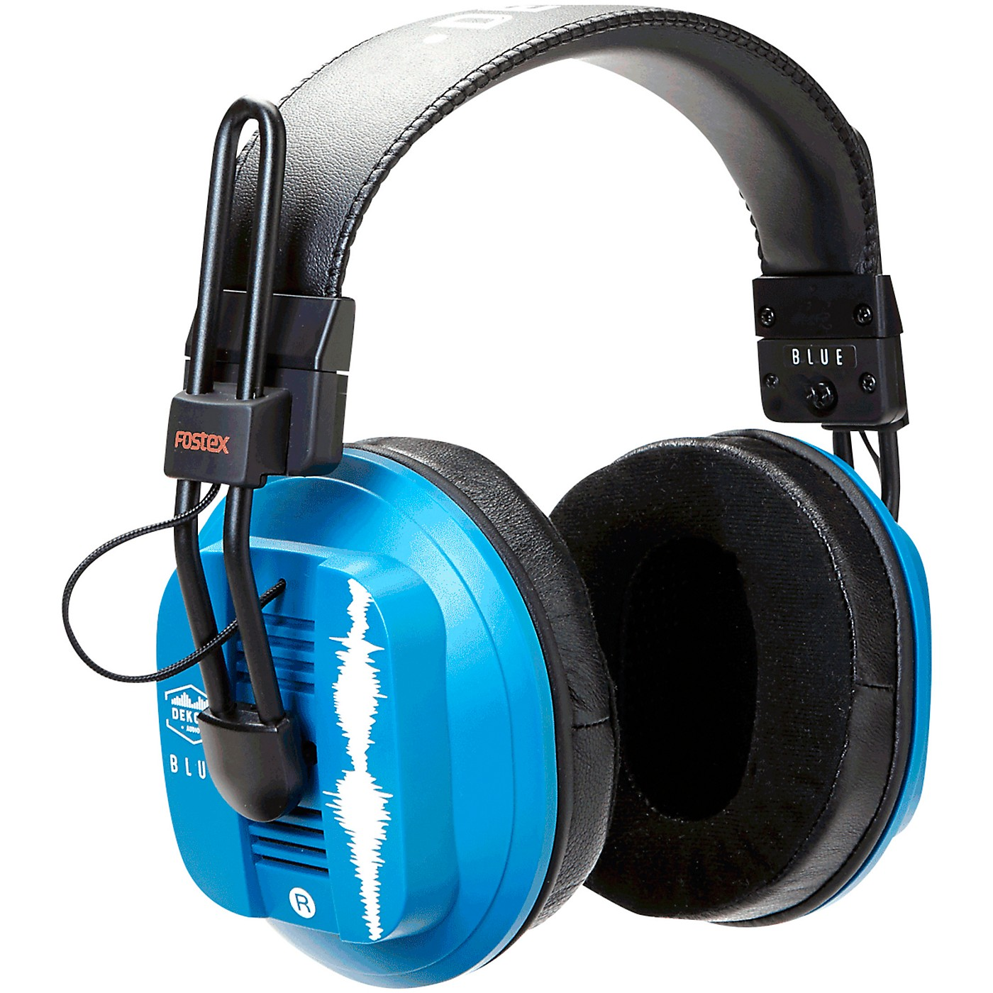 Dekoni Audio Blue - Fostex/Dekoni Audiophile HiFi Planar Magnetic Headphone thumbnail