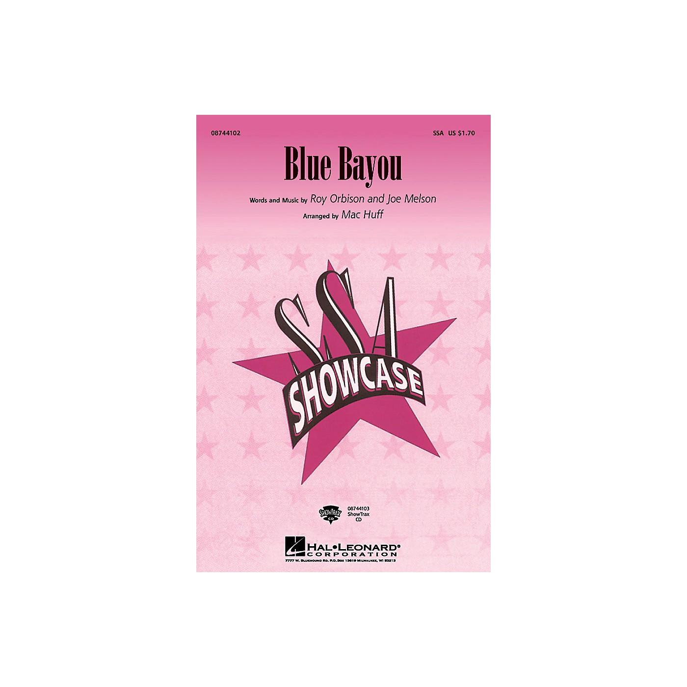 Hal Leonard Blue Bayou SSA arranged by Mac Huff thumbnail