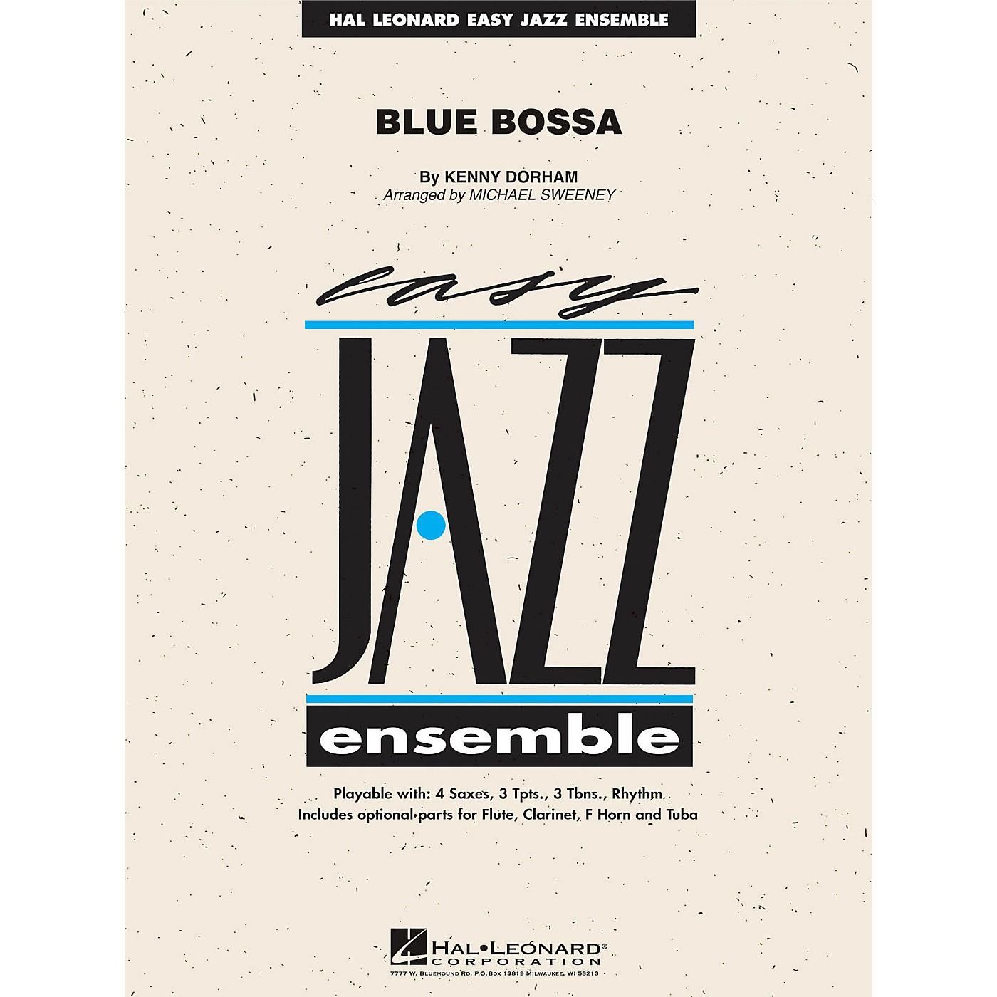 Hal Leonard Blue Bossa Jazz Band Level 2 Arranged by Michael Sweeney thumbnail