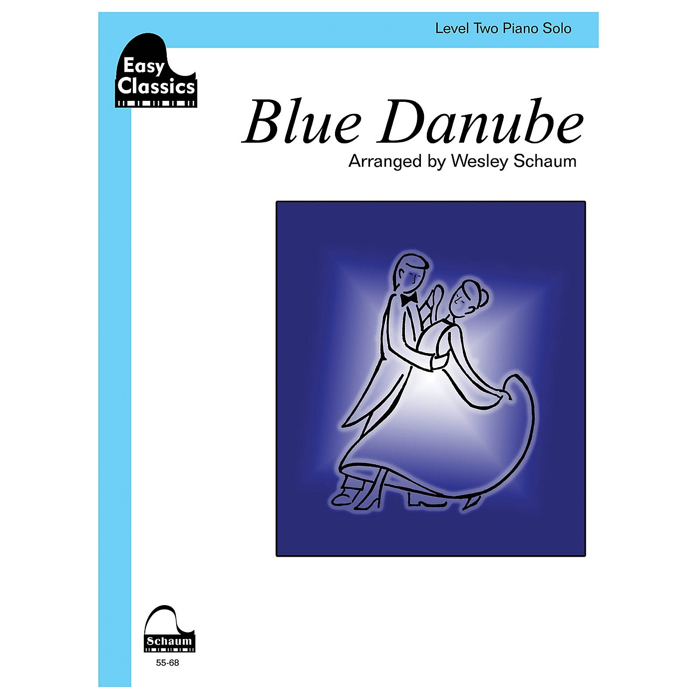 SCHAUM Blue Danube (easy) Educational Piano Series Softcover thumbnail
