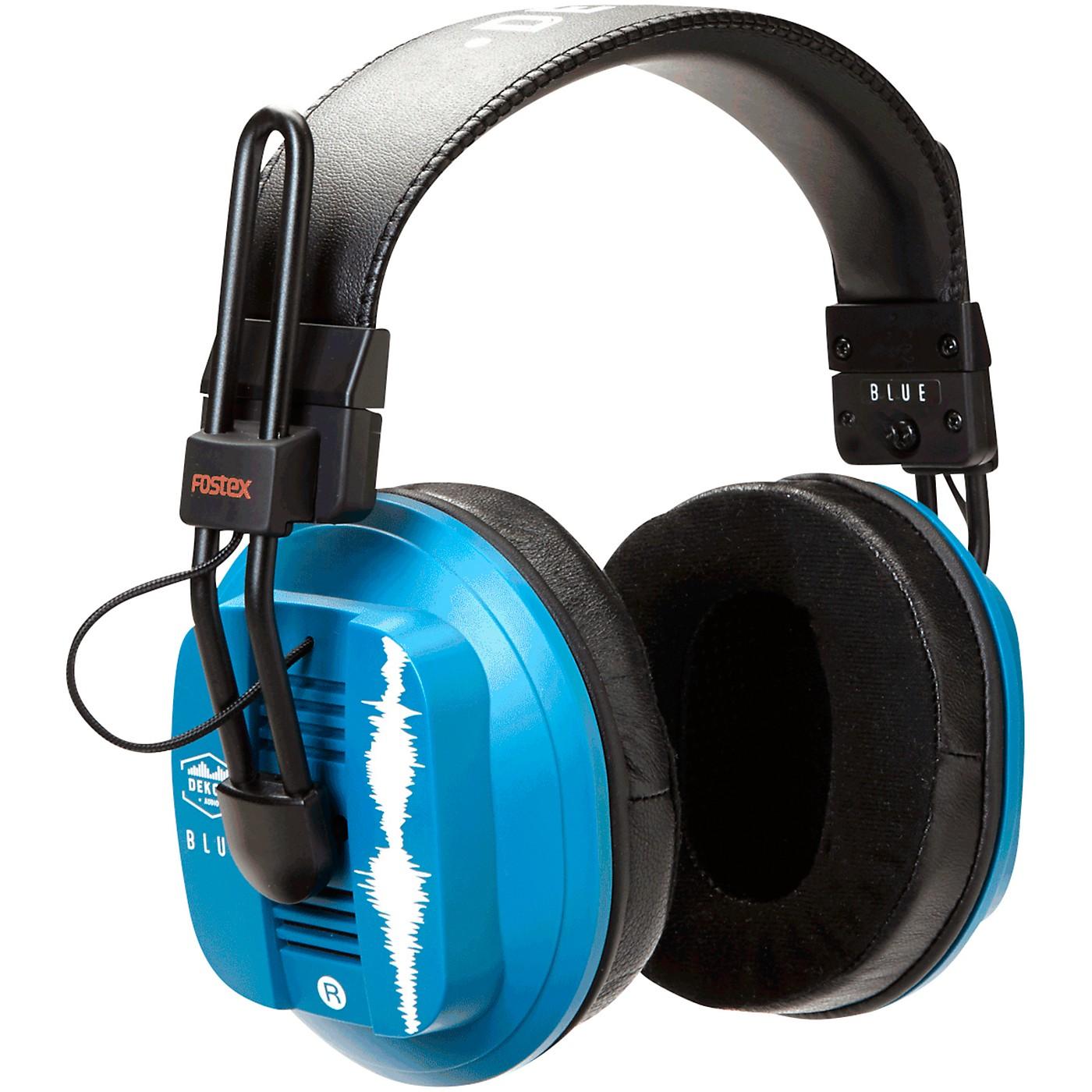 Dekoni Audio Blue Fostex/Dekoni HiFi Audiophile Planar Magnetic Headphone thumbnail