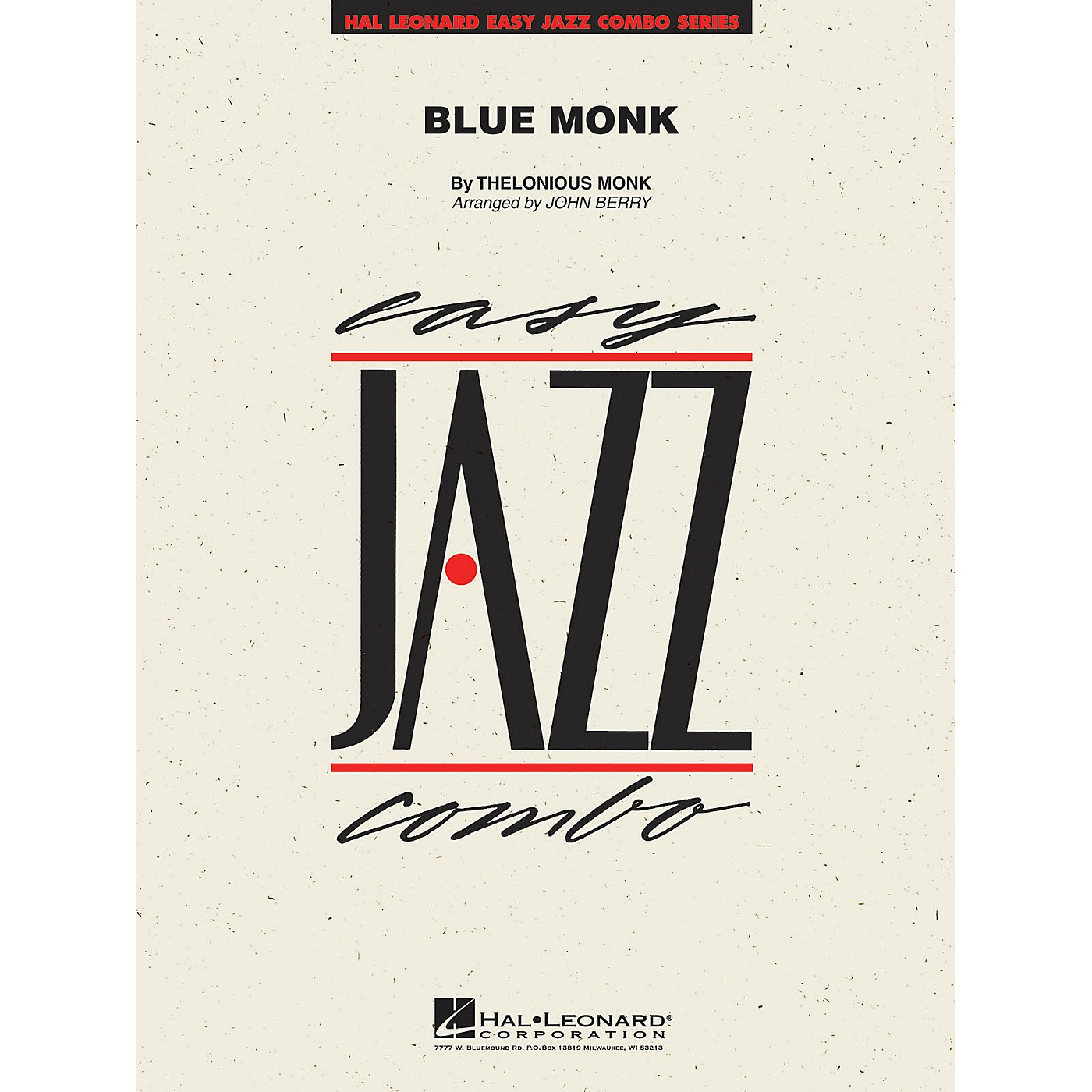 Hal Leonard Blue Monk Jazz Band Level 2 Arranged by John Berry thumbnail
