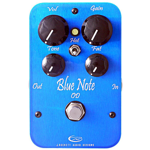 Rockett Pedals Blue Note Overdrive Guitar Effects Pedal thumbnail