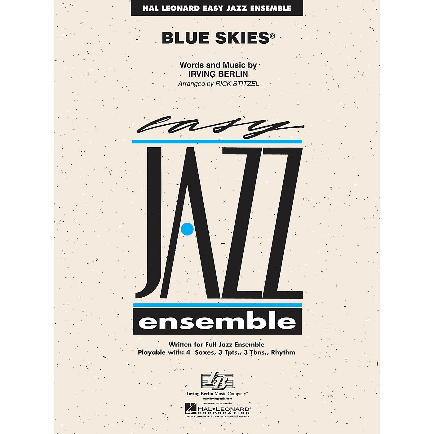 Hal Leonard Blue Skies Jazz Band Level 2 Arranged by Rick Stitzel thumbnail