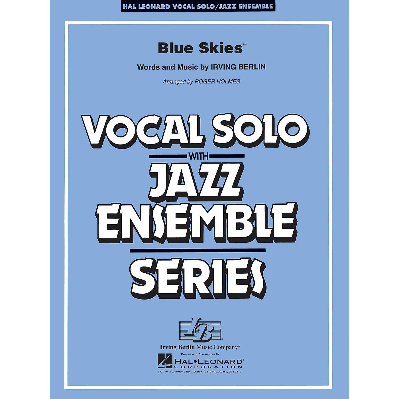 Hal Leonard Blue Skies (Key: Cmi) Jazz Band Level 3-4 Composed by Irving Berlin thumbnail
