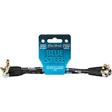 Dean Markley Blue Steel Cables (3 Pack), Right Angle/Right Angle