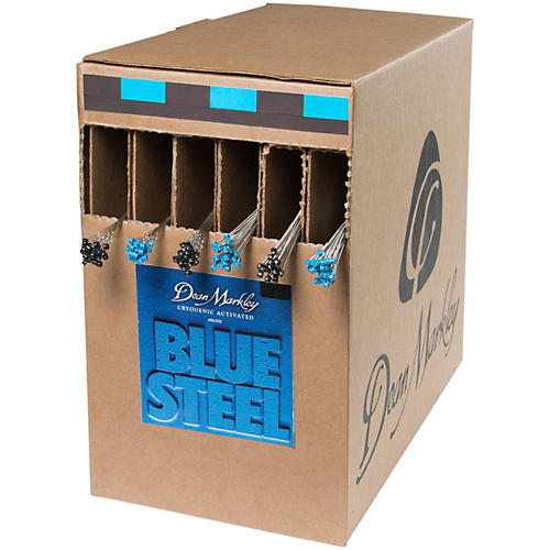 Dean Markley Blue Steel Light Box 25 Sets  Electric Guitar Strings thumbnail