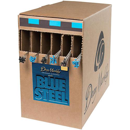 Dean Markley Blue Steel-Medium Light Box 25 Sets Acoustic Guitar Strings thumbnail