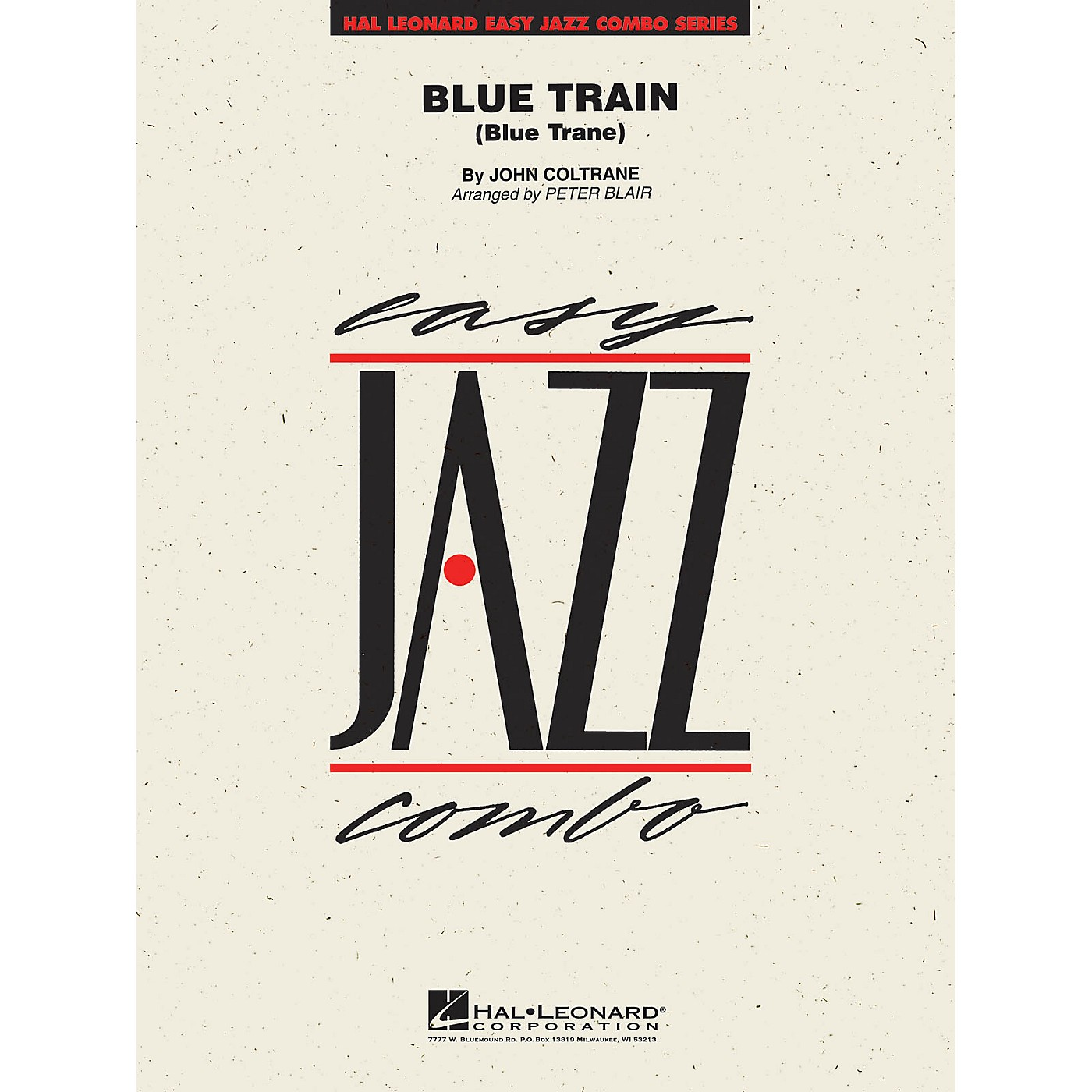 Hal Leonard Blue Train Jazz Band Level 2 Arranged by Peter Blair thumbnail