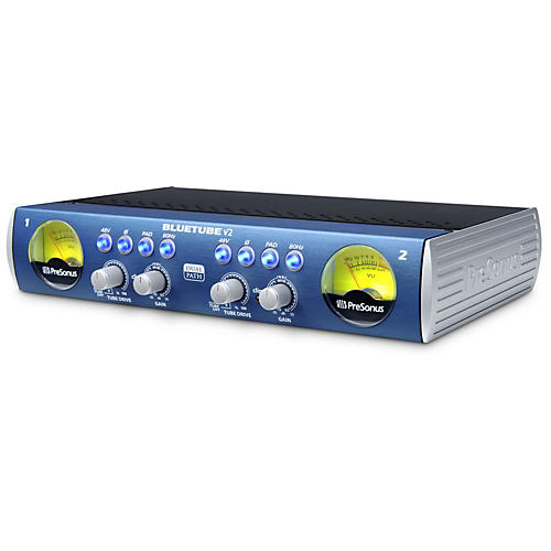 PreSonus BlueTube DP V2 2-Channel Mic/Instrument Tube Preamp thumbnail