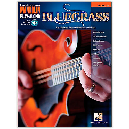 Hal Leonard Bluegrass - Mandolin Play-Along Volume 1 (Book/Online Audio) thumbnail
