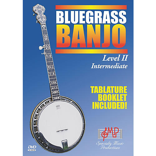 Specialty Music Productions Bluegrass Banjo Level II Intermediate (DVD) thumbnail