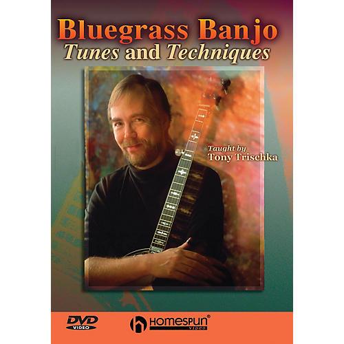 Homespun Bluegrass Banjo Tunes & Techniques DVD/Instructional/Folk Instrmt Series DVD Performed by Tony Trischka thumbnail