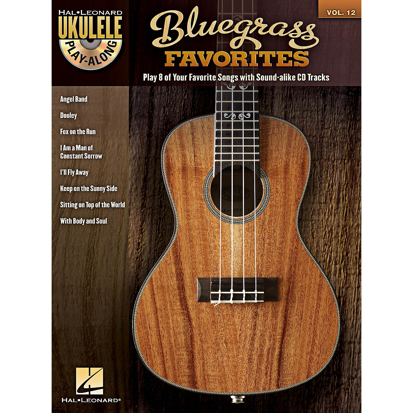 Hal Leonard Bluegrass Favorites - Ukulele Play-Along Vol. 12 Book/CD thumbnail
