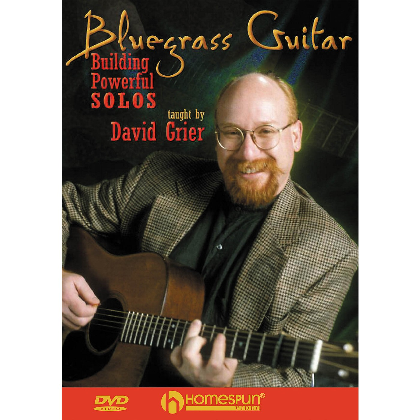 Homespun Bluegrass Guitar Instructional/Guitar/DVD Series DVD Performed by David Grier thumbnail