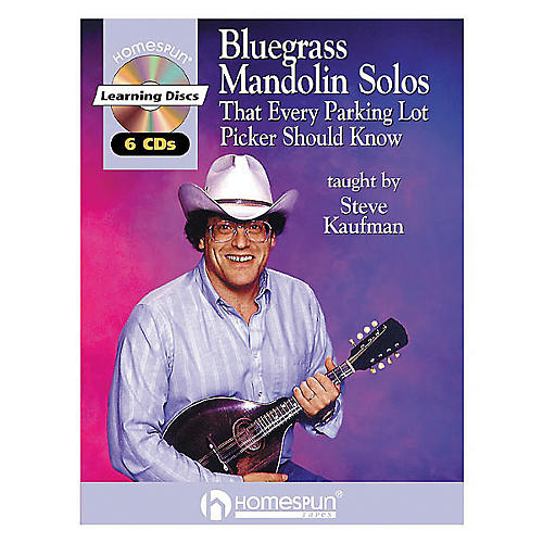 Homespun Bluegrass Mandolin Solos That Every Parking Lot Picker Should Know Book with CD-thumbnail
