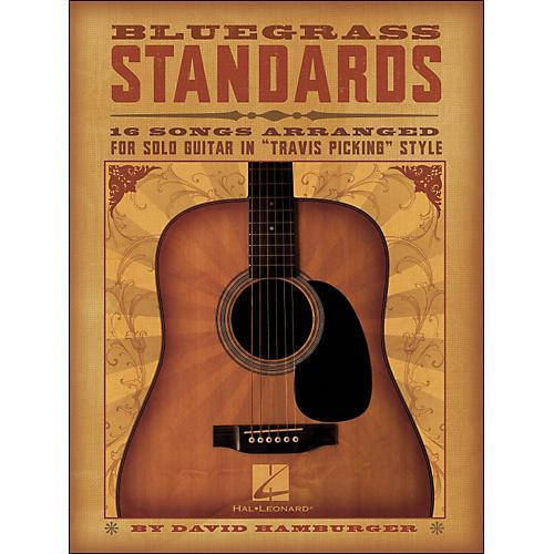 Hal Leonard Bluegrass Standards - 16 Songs Arr. for Solo Guitar In