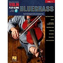 Hal Leonard Bluegrass Violin Play-Along Volume 1 Book/CD