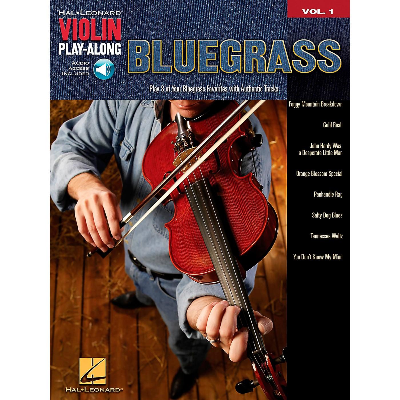 Hal Leonard Bluegrass Violin Play-Along Volume 1 Book/Online Audio thumbnail
