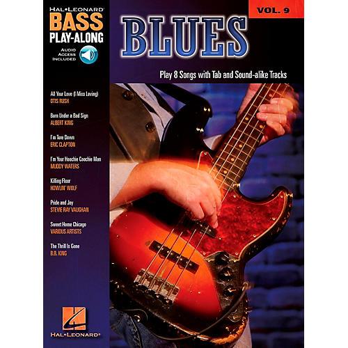 Hal Leonard Blues - Bass Play-Along Series Volume 9 Book and CD thumbnail