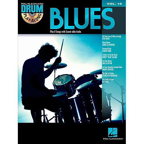 Hal Leonard Blues - Drum Play-Along Volume 16 Book/CD thumbnail