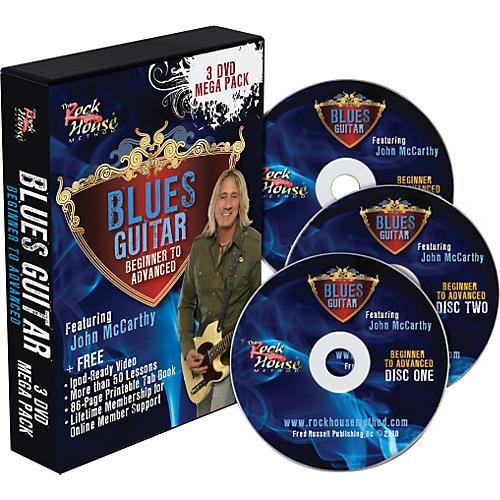 Rock House Blues 3 DVD Mega Pack thumbnail