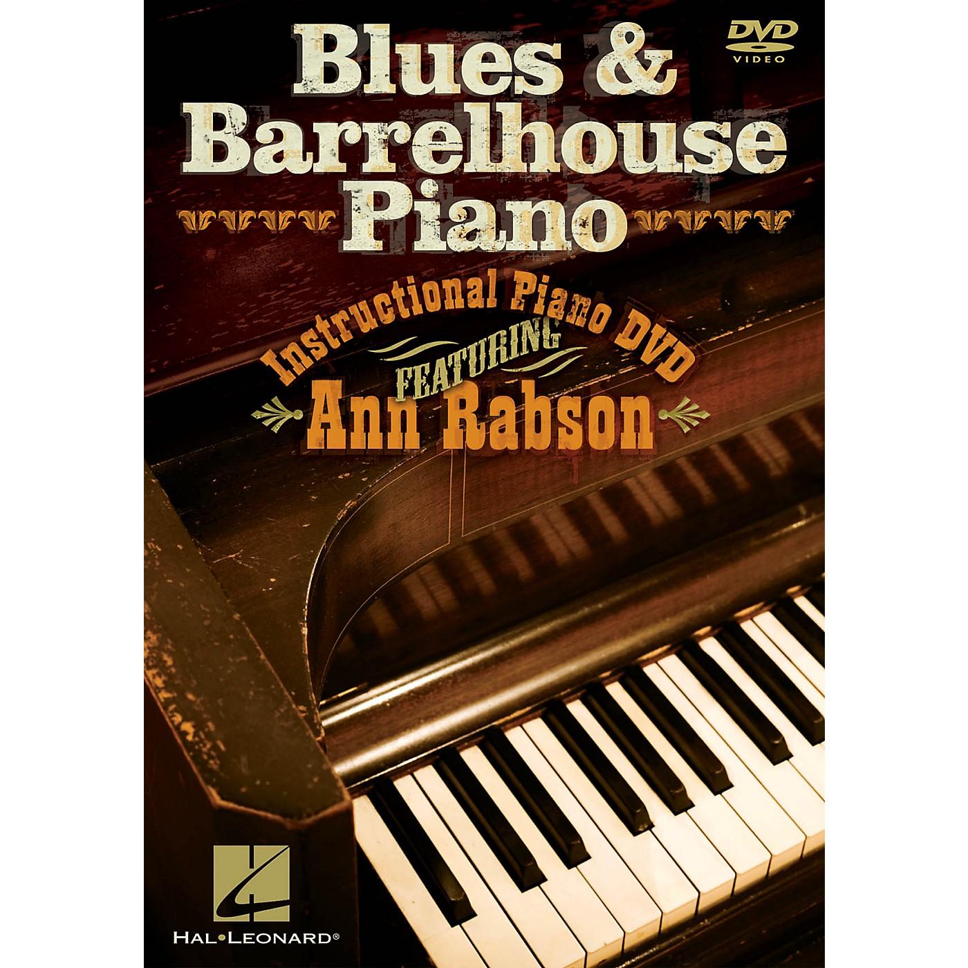 Hal Leonard Blues & Barrelhouse Piano (Instructional Piano DVD featuring Ann Rabson) DVD Series DVD by Ann Rabson thumbnail