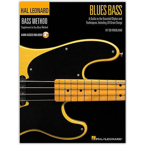 Hal Leonard Blues Bass - A Guide to the Essential Styleas and Techniques (Book/Online Audio) thumbnail