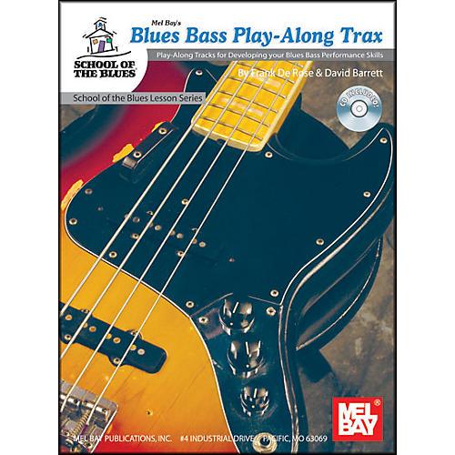 Mel Bay Blues Bass Play-Along Trax Book and CD thumbnail