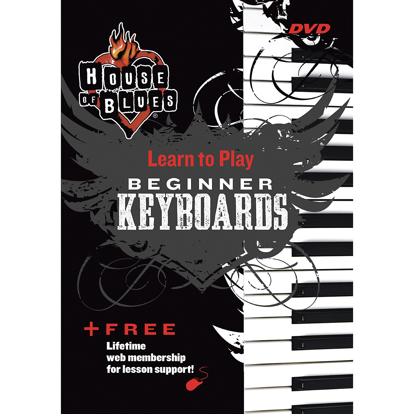 Hal Leonard Blues Beginner Keyboards DVD thumbnail