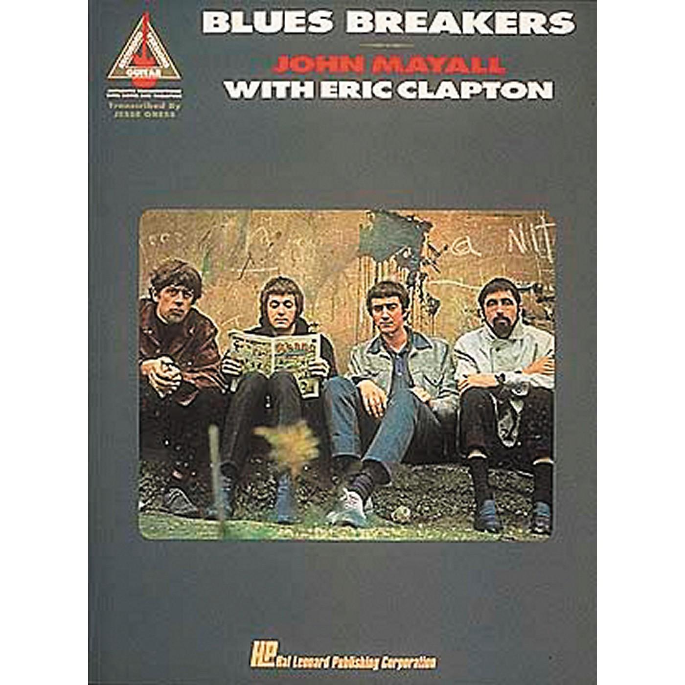 Hal Leonard Blues Breakers John Mayall with Eric Clapton Guitar Tab Songbook thumbnail