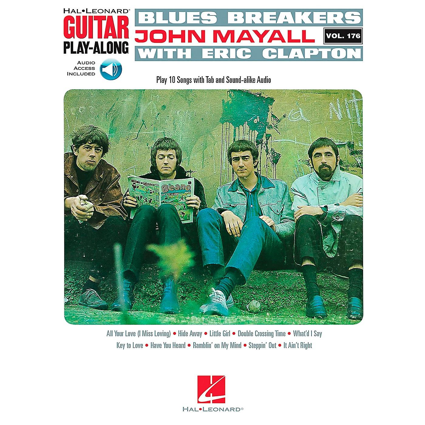 Hal Leonard Blues Breakers With John Mayall & Eric Clapton - Guitar Play-Along Book/CD thumbnail