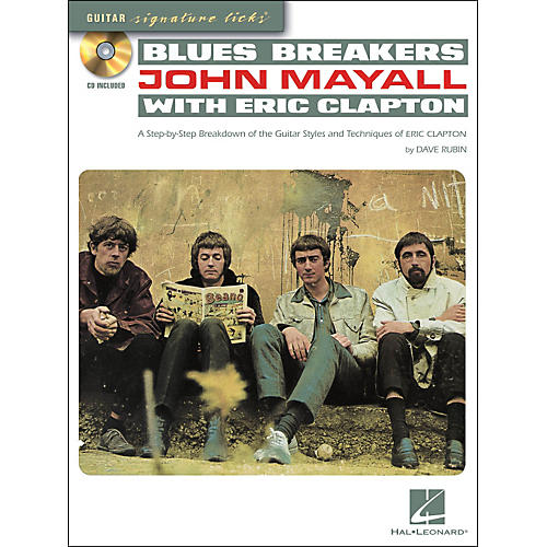Hal Leonard Blues Breakers With John Mayall & Eric Clapton - Guitar Signature Licks Book/CD thumbnail
