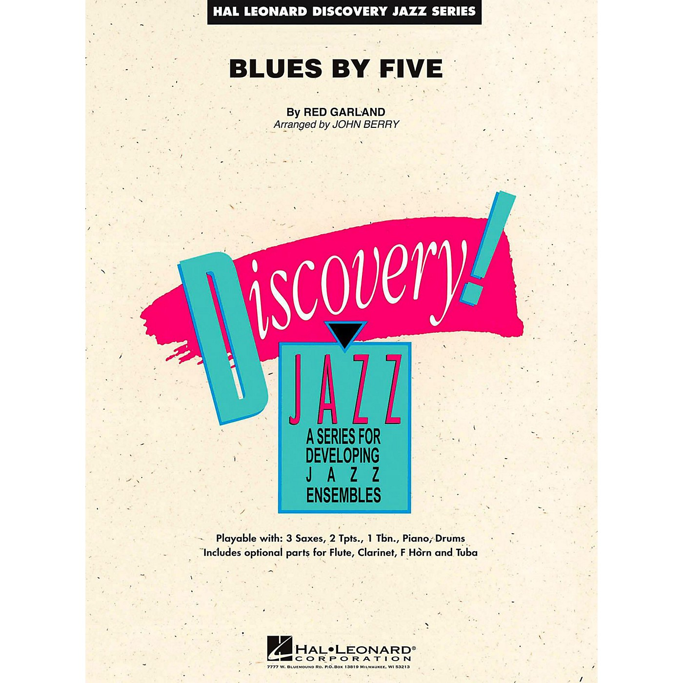 Hal Leonard Blues By Five Jazz Band Level 2 thumbnail