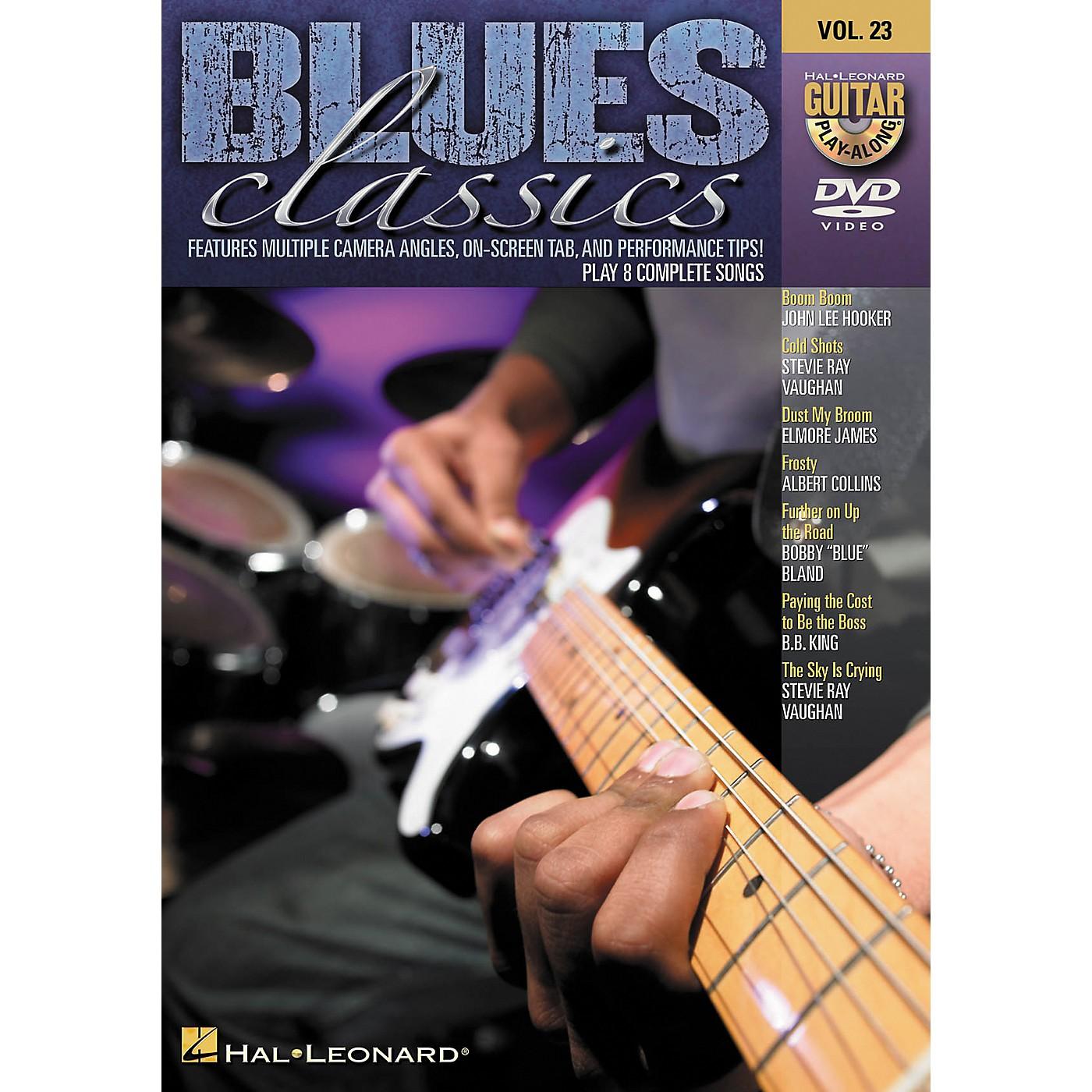Hal Leonard Blues Classics - Guitar Play-Along DVD Volume 23 thumbnail