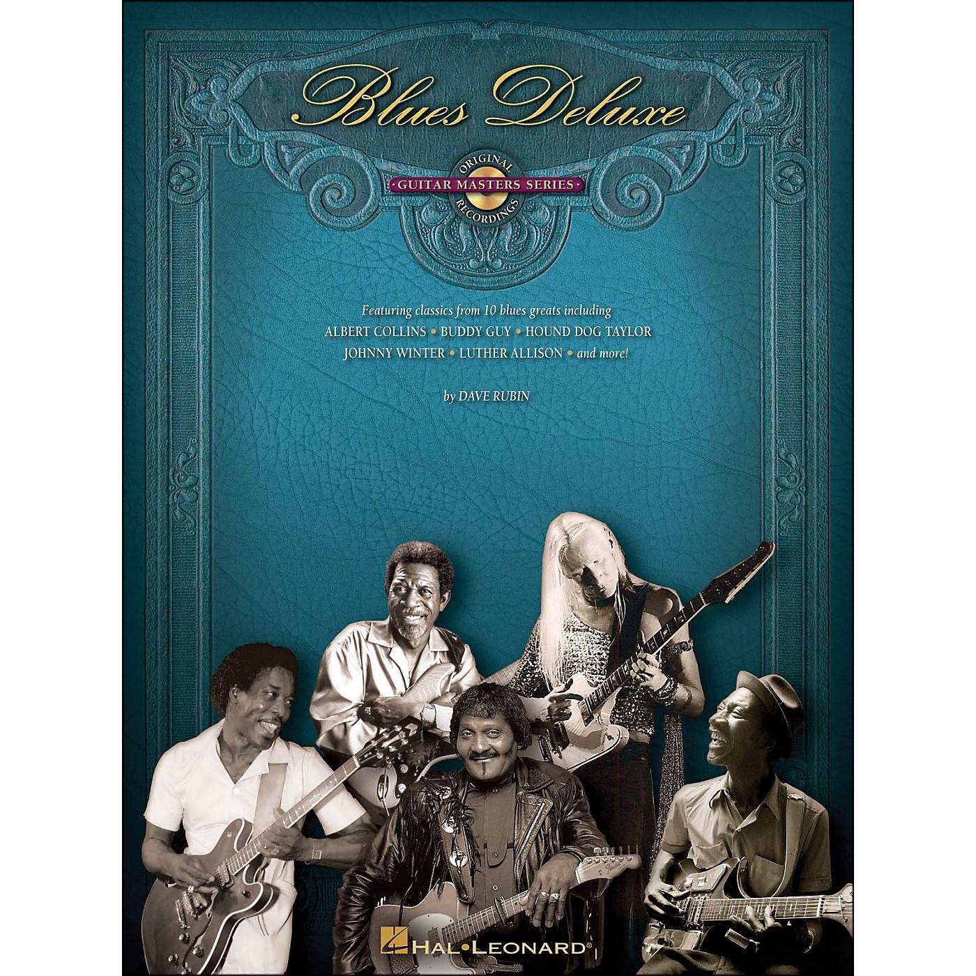 Hal Leonard Blues Deluxe - Guitar Master Series (CD/Pkg) thumbnail