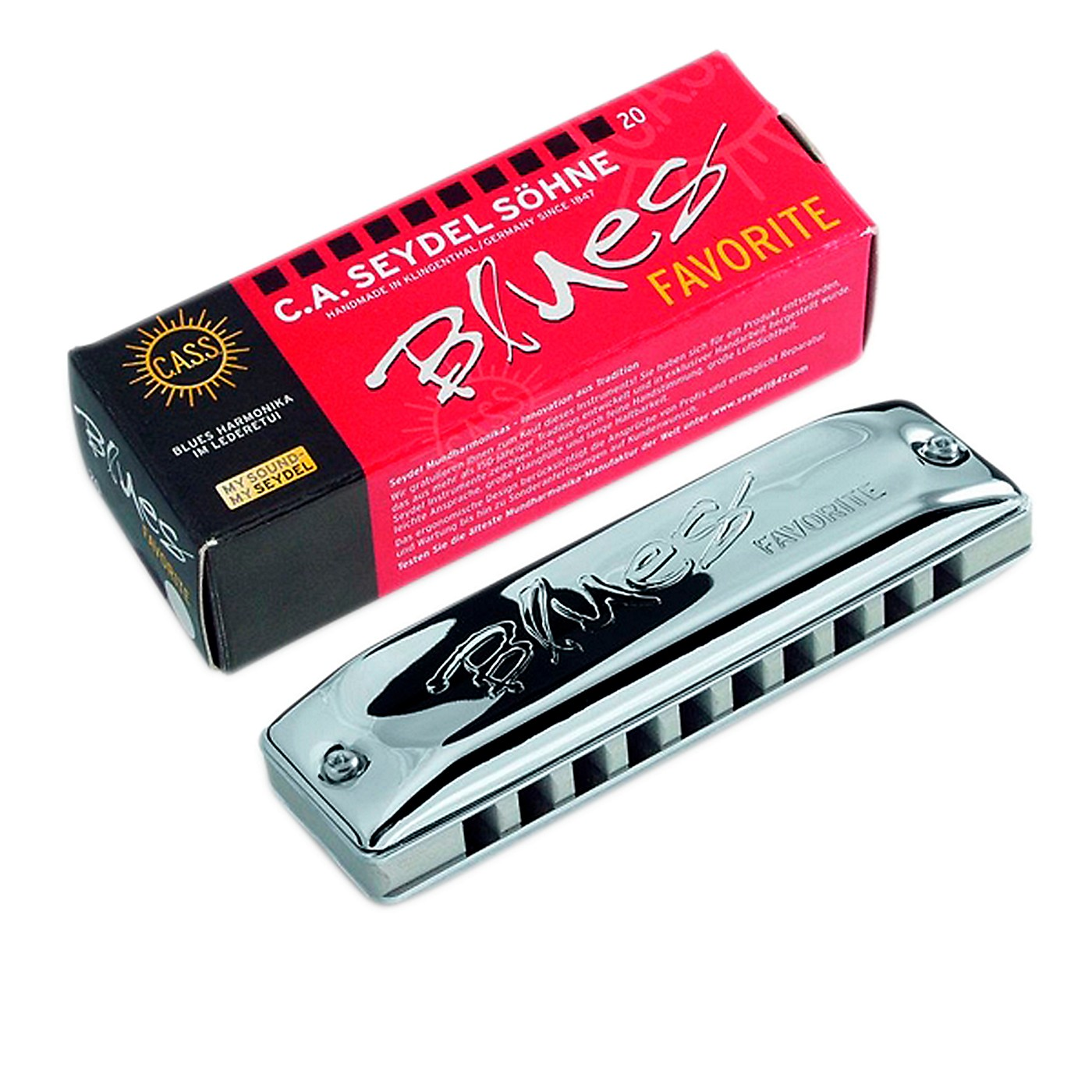 SEYDEL Blues Favorite Harmonica thumbnail
