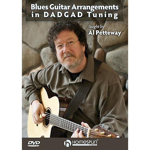 Homespun Blues Guitar Arrangements in DADGAD Tuning Homespun Tapes Series DVD Performed by Al Petteway thumbnail