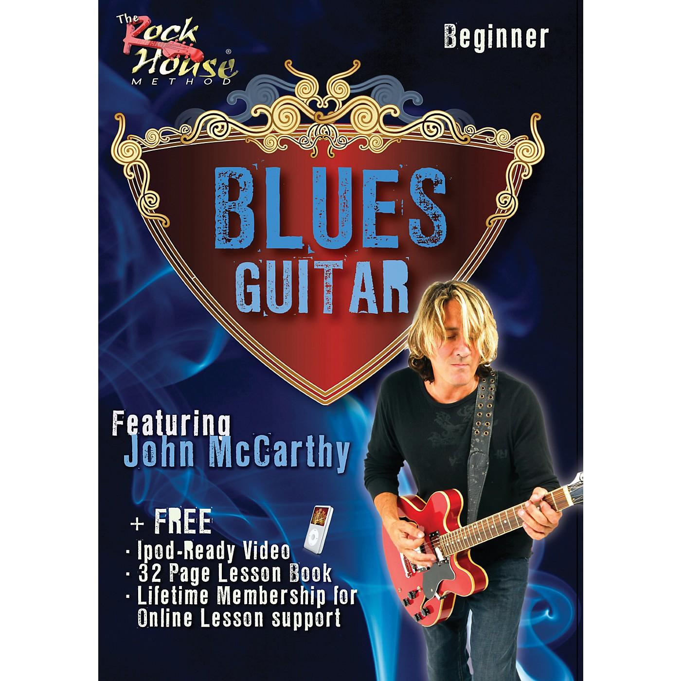 Hal Leonard Blues Guitar Beginner Featuring John McCarthy DVD thumbnail
