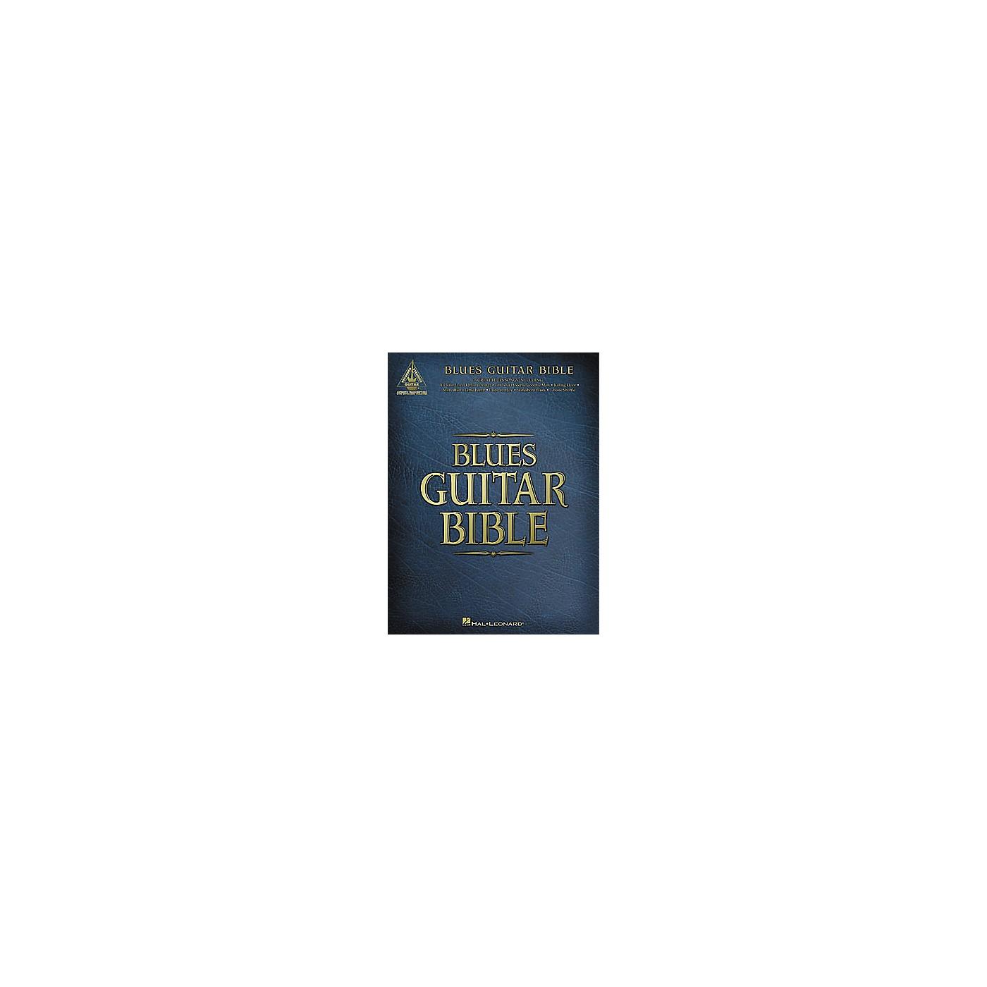 Hal Leonard Blues Guitar Bible Tab Book thumbnail