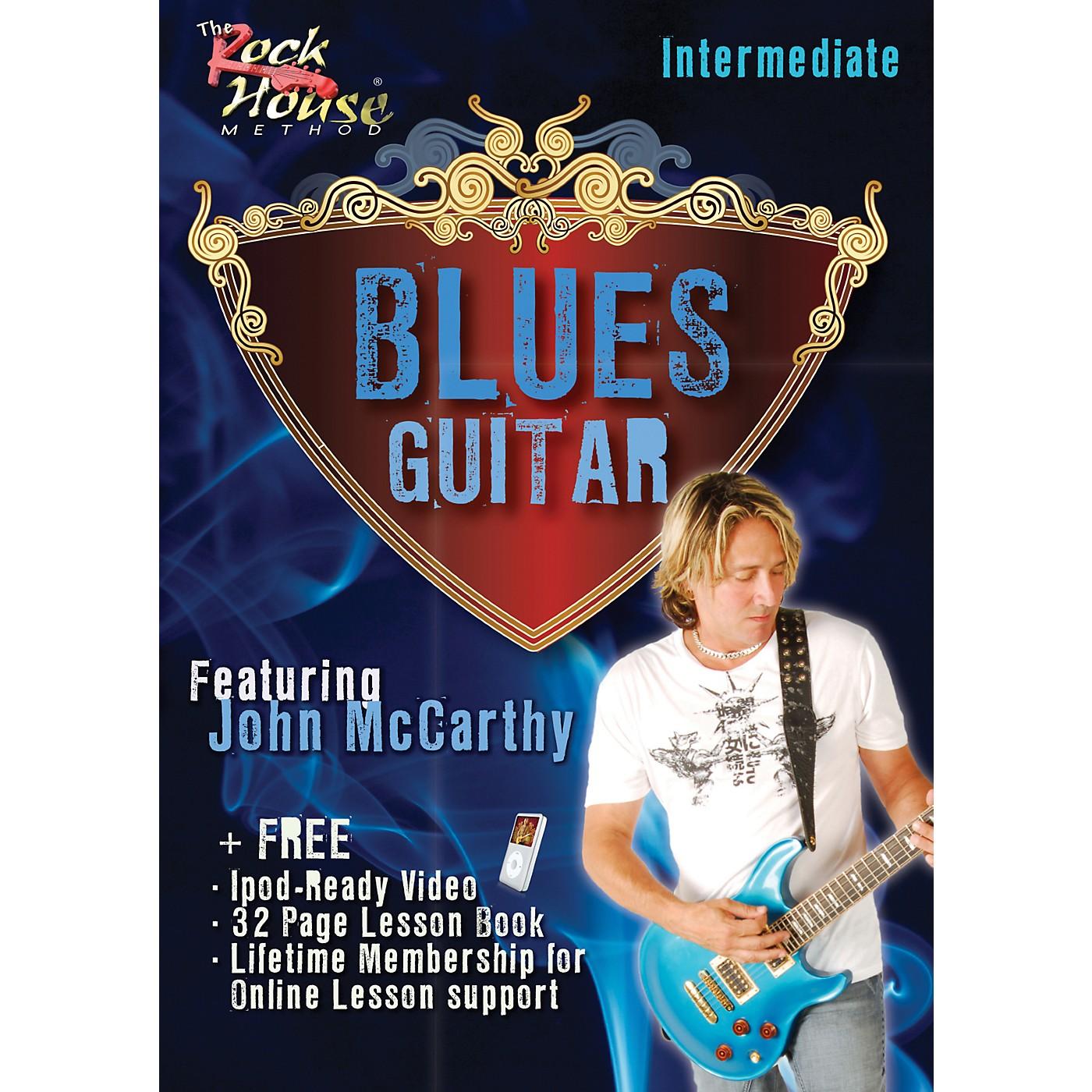 Hal Leonard Blues Guitar Intermediate Featuring John McCarthy thumbnail