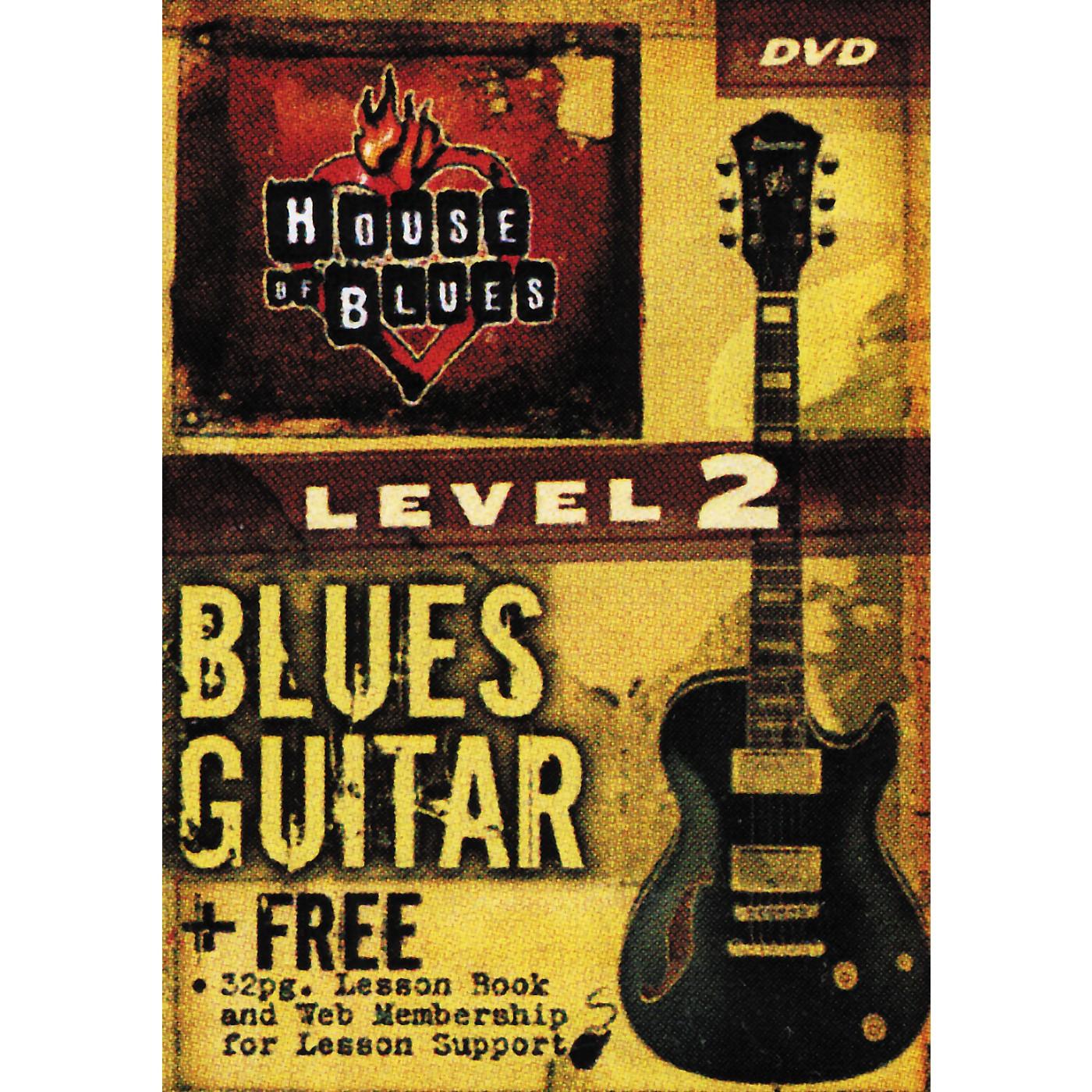 Hal Leonard Blues Guitar Level 2 (DVD) thumbnail