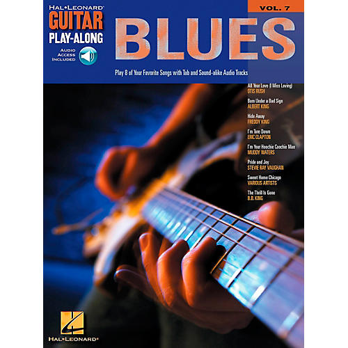 Hal Leonard Blues Guitar Play-Along Series Volume 7 Book with CD thumbnail