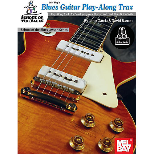 Mel Bay Blues Guitar Play-Along Trax Book and CD thumbnail