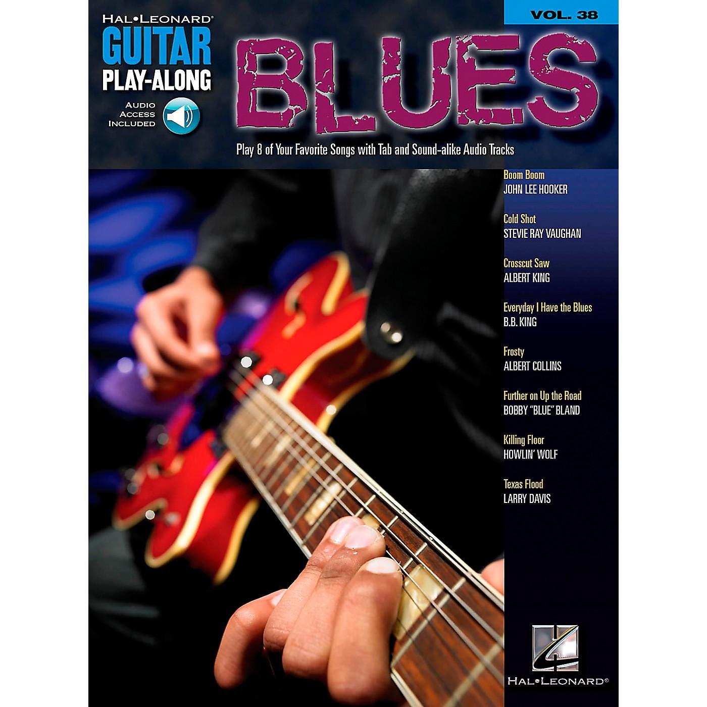 Hal Leonard Blues Guitar Play-Along Volume 38 Book with CD thumbnail