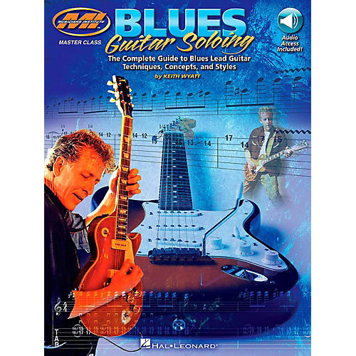 Hal Leonard Blues Guitar Soloing - The Complete Guide Book/Online Audio thumbnail