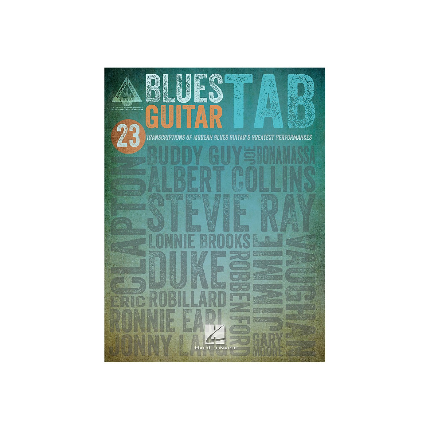 Hal Leonard Blues Guitar Tab Songbook thumbnail